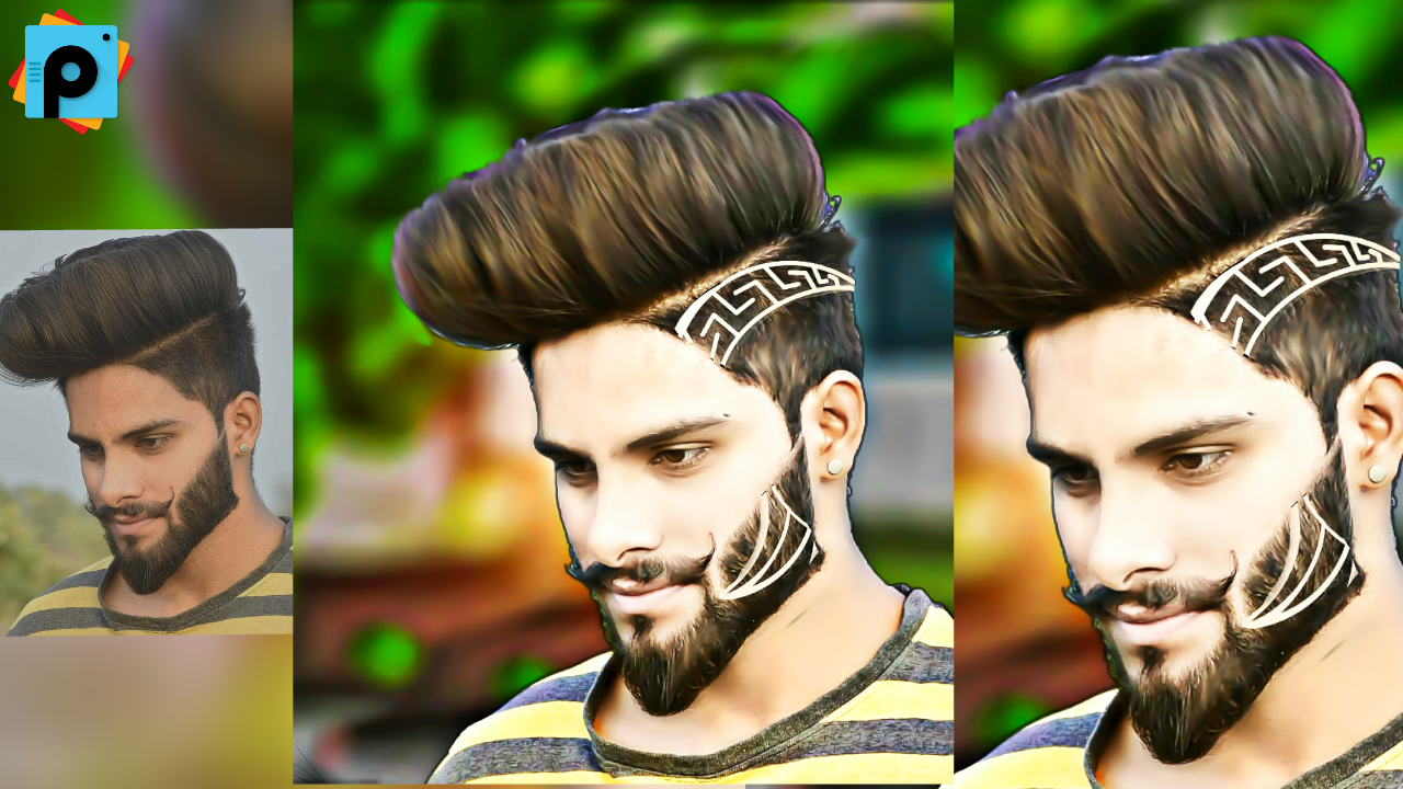 Hairstyle editing