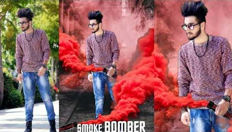 Smoke-Bom-editing-in-Picsart
