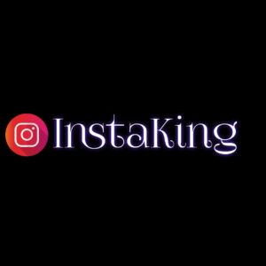 Instaking Text Png