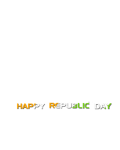 republic day text png