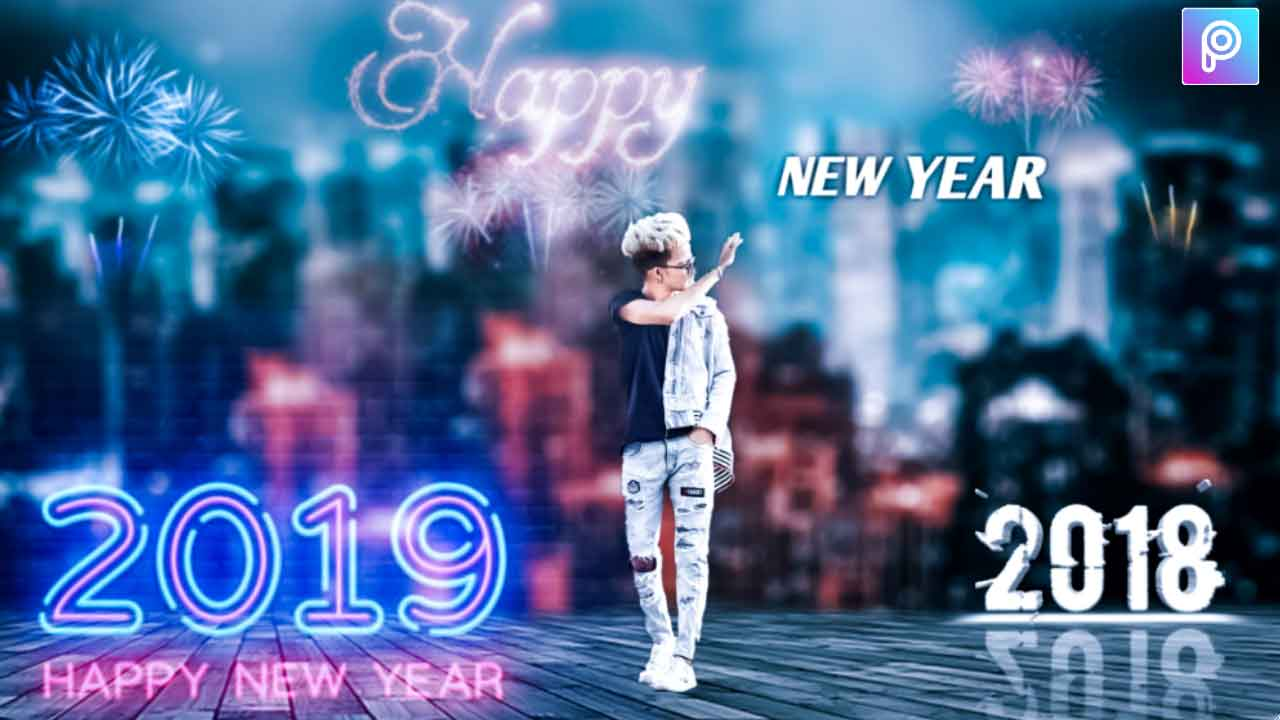 Happy New Year Editing Background 9